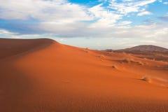Sáhara - dunas del desierto Fotografía de archivo libre de regalías