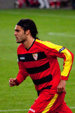Sánchez (FC Sevilla) Imagen de archivo libre de regalías