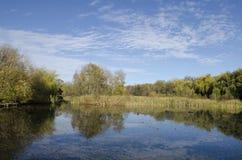 Sás湖在马特拉中 免版税图库摄影