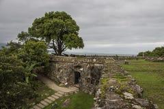 São José da Ponta Grossa Fortress - Florianópolis/SC - Brazil Royalty Free Stock Images