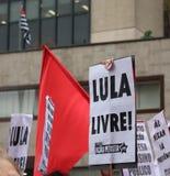 São Paulo/São Paulo/Brazil - may 15 2019 popular political manifestation against lack of budget on education affecting