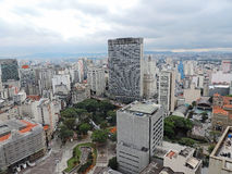 São Paulo seen from above Stock Image