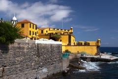 São Tiago fort Funchal, madera zdjęcie stock