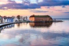 Sønderborg kasztel, Południowy Dani Zdjęcia Royalty Free