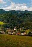 Súľov Hradná, Bytča, Slovakia. National nature reserve situated within the Súľov Mountains region of Slovakia Royalty Free Stock Photography