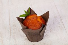Süßes geschmackvolles Muffin stockfotografie