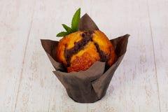 Süßes geschmackvolles Muffin stockfoto