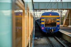 Südafrikanische Schiene stockbilder