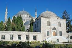 SÃ ¼ leymaniye Camii - de keizermoskee van de Ottomane - Istanboel royalty-vrije stock foto