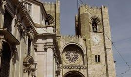 Sé de Lisboa Fotos de Stock Royalty Free