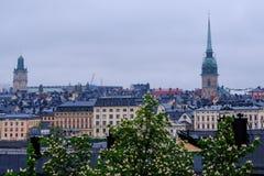 Södermalm, Στοκχόλμη, Σουηδία Στοκ Φωτογραφία