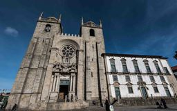 Sé font Porto Photographie stock