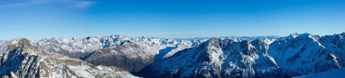 Sölden Ski Arena 2016 Immagine Stock