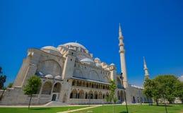 SÃ ¼ leymaniye清真寺在伊斯坦布尔 库存照片