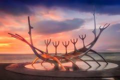SÃ ³ lfar & ηλιοβασίλεμα στοκ φωτογραφίες με δικαίωμα ελεύθερης χρήσης