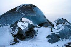 Sólheimajökull glacier. The Sólheimajökull glacier in Iceland Stock Images