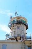 Sémaphore du Cap Couronne, marine française Images libres de droits