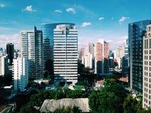 São保罗企业邻居 库存图片