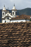 São弗朗西斯科和诺萨Senhora教会在3月做卡尔穆 免版税库存照片