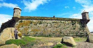 São弗朗西斯科堡垒做Queijo 免版税图库摄影