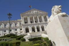 São Bento pałac - zgromadzenie republika (Portugalia) fotografia royalty free