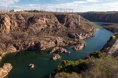 São Francisco River, Brazilië stock foto's