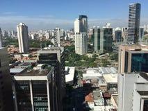 São Pablo, Vila Olimpia Foto de archivo