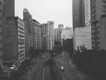 São Paulo centrum Royaltyfri Foto