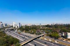 São Paulo Skyline Foto de Stock