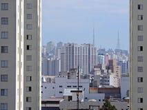 São Paulo Skyline Imagens de Stock