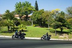 São Pedro Motorcycle Fotografía de archivo libre de regalías