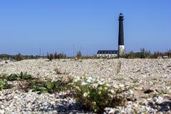 Sõrve latarnia morska w Saaremaa w Estonia zdjęcie royalty free