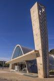 São Francisco De Assis kościół - Pasmpulha jezioro Fotografia Stock