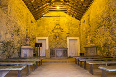 São José da Ponta Grossa Fortress - Florianópolis/SC - Brasilien Fotografering för Bildbyråer