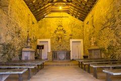 São José da Ponta Grossa Fortress - Florianópolis/SC - Brazil. Chapel inside the São José da Ponta Grossa Fortress - Florianópolis - Santa Catarina Stock Image