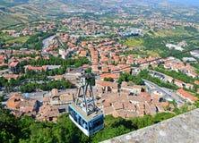 São Marino Imagens de Stock