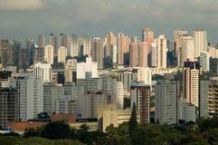 São Paulo. Sao Paulo skyline, general view royalty free stock photo
