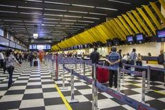 São Paulo - aéroport de Congonhas - le Brésil Photographie stock libre de droits