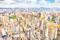São Paulo, Brazil. Aerial view of São Paulo, Brazil Stock Image