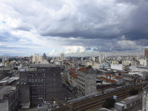 São Paulo Cityline. From an apartment at the City center Stock Photo