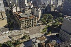 São Paulo de stad in - São Paulo - Brazilië stock foto's