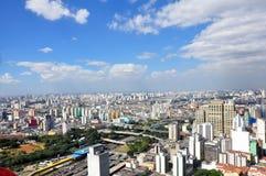 São Paulo General View Arkivfoto