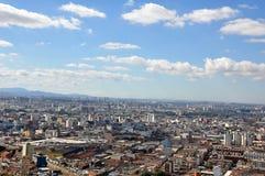 São Paulo General View Imagenes de archivo