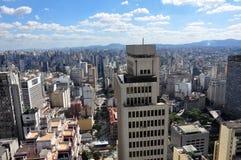 São Paulo General View Foto de archivo libre de regalías