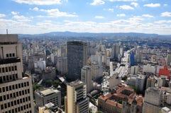 São Paulo General View Stock Photography