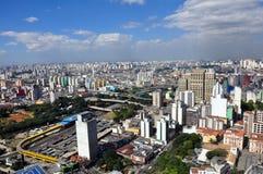 São Paulo General View Stock Image