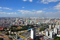 São Paulo General View Stock Photos