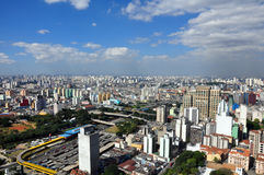 São Paulo General View Stock Photo