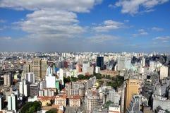 São Paulo General View Royalty Free Stock Image