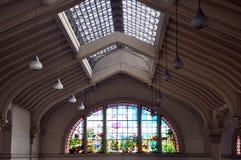 São Paulo Municipal-Markt Stockbild